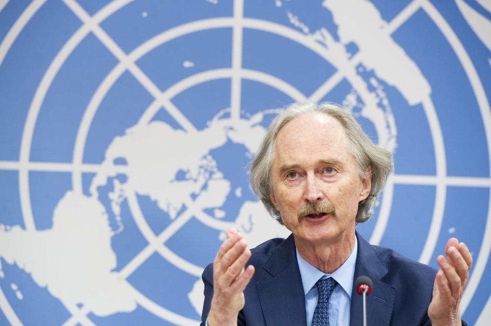 UN.Special Envoy for SYRIA Press Conference 17 October 2021