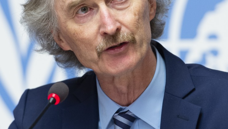OSE press conference: Syria Constitutional Committee Geir O. Pedersen