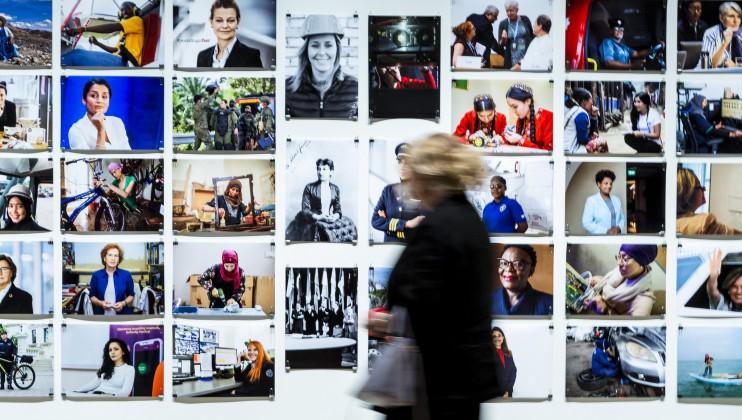The UN Geneva art exhibition at downtown Geneva's Musée Rath - UN Photo / Antoine Tardy